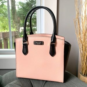 NWT Kate Spade genuine leather satchel